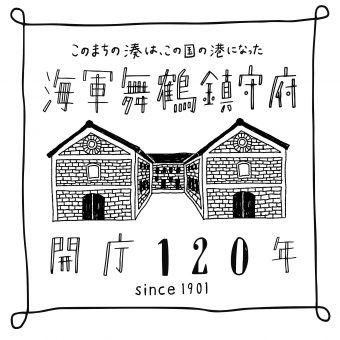 鎮守府120周年ロゴ